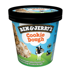 cookie dough ben jerry ice cream 100 ml